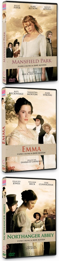 collection dvd Jane Austen BBC