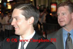 Photos de Tobey Maguire © spiderman 3 paris