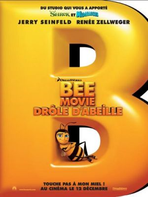 affiche Bee movie , drôle d'abeille poster
