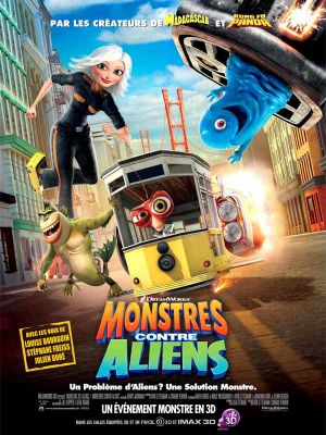 Affiche du film Monstres contre Aliens poster monsters vs aliens