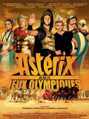 affiche asterix aux jeux olympiques olympic games poster