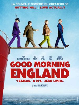 affiche good morning England poster