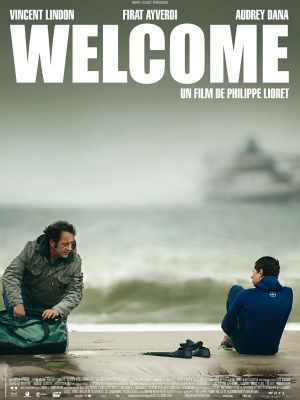 affiche welcome vincent Lindon poster